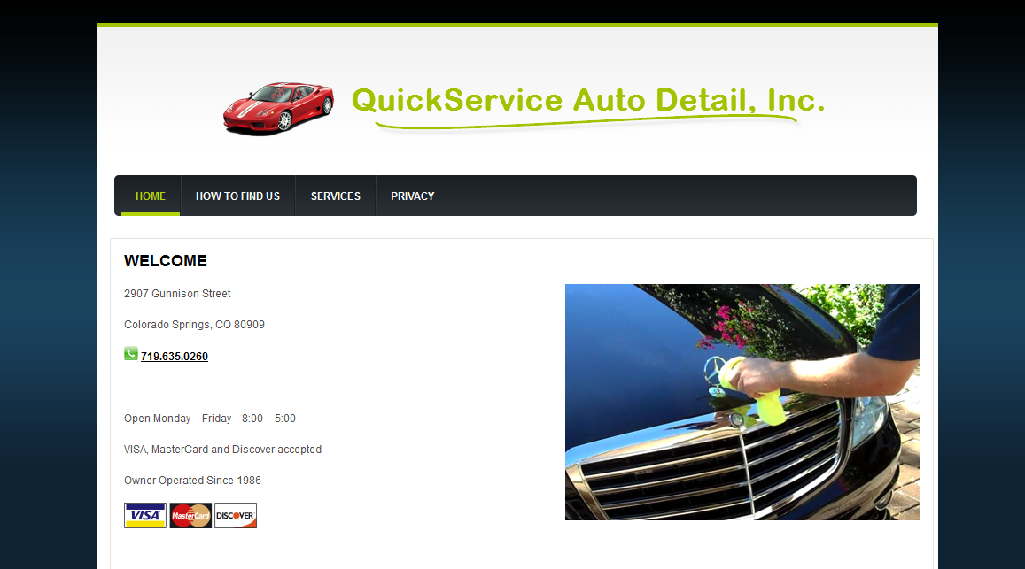 QuickService Auto Detail